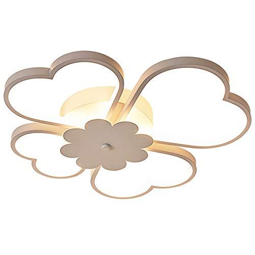 LED Moderne Mit Fernbedienung Dimmbare Deckenleuchte 36W Weiß Blütenform Deckenbeleuchtung Lampenschirm Wohnzimmer Schlafzimmer Arbeitszimmer Balkon Korridor Büro
