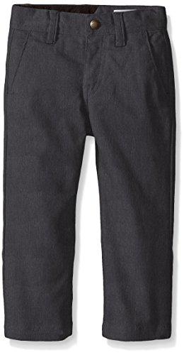 Volcom Big Boys Frickin Modern Stretch Pant, Charcoal, 26