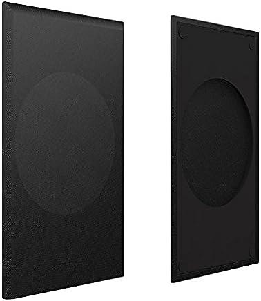 KEF Speaker Grill KEF Q350 Black Cloth Grill 1pc, (SP3975BA)