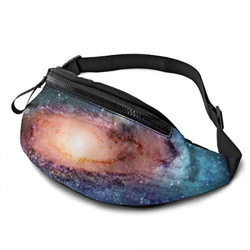 Ahdyr Beautiful Whirlpool Galaxies Fashion Casual Taillentasche Gürteltasche Travel Bum Bags Running Pocket für Männer Frauen