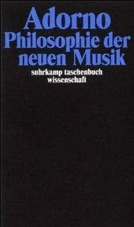 Philosophie der neuen Musik.