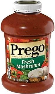 Prego Italian Sauce, Heart Smart Mushroom, 67 Ounce - 3 Pack