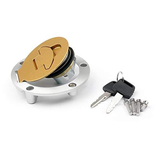Artudatech - Tappo di protezione per serbatoio del carburante con 2 chiavi per D-U-C-A-T-I 750 748 996 900 Monster 695 620