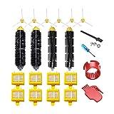 Composición de aspiradora HEPA Filtros Kit de reemplazo del...