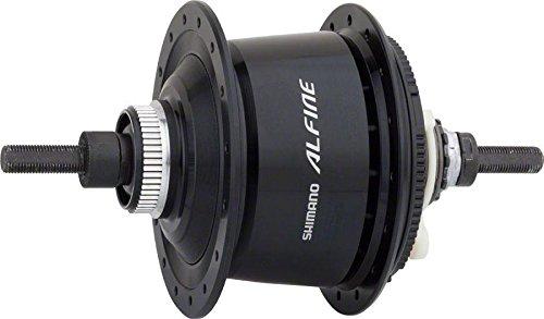 Shimano Unisex– Erwachsene Fahrradnabe-2091601770 Fahrradnabe, Schwarz, One Size