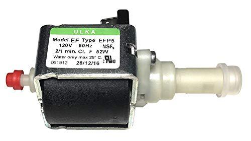 ULKA Pump Model EFP5 ~120v 60hz 2/1 minutes, 52W, for Breville Espresso