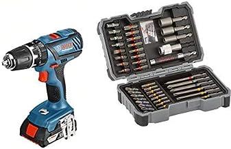 Bosch GSB 18-2-LI Plus Professional + Bosch 2 607 017 164 Set de 43 Unidades