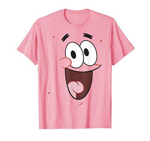 SpongeBob SquarePants Patrick Face Portrait T-Shirt