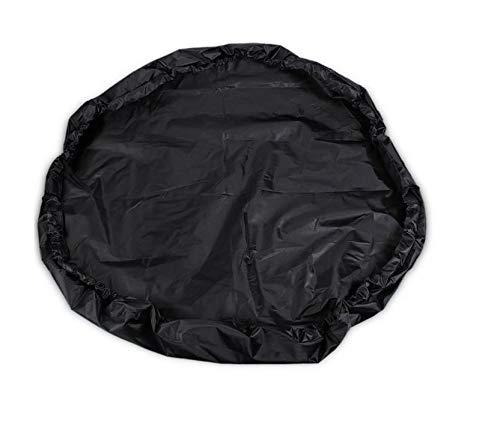 UCARE Impermeable playa natación ropa bolsa de almacenamiento conveniente traje de buceo playa surf traje de almacenamiento rápido cubierta negro (90cm)