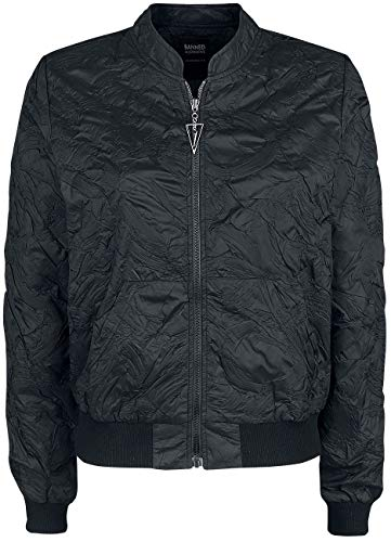 Banned Lava bomber jas, zwart