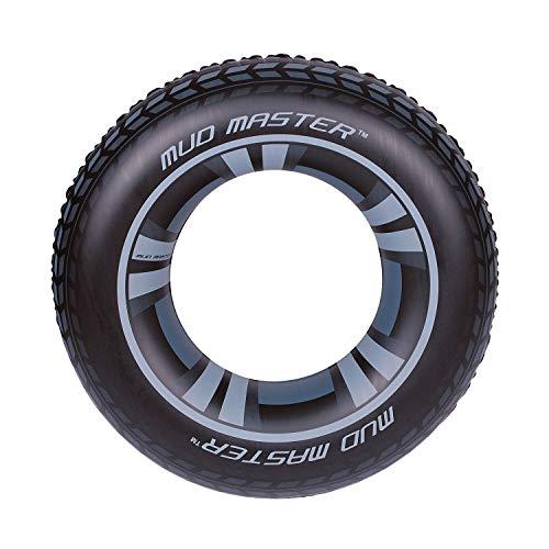 Bestway Mud Master Swim Ring - Black, 36 Inch