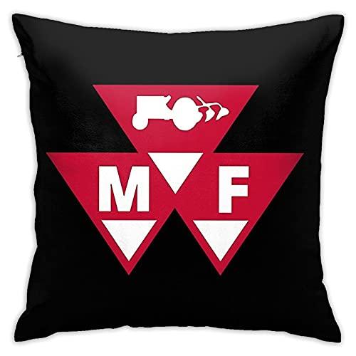 Ma-ssey Ferg-uson - Funda de cojín cuadrada para sofá, silla, dormitorio, salón, decoración del hogar, fundas de almohada de 45,7 x 45,7 cm