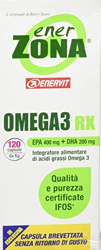 Enerzona Omega 3 Rx Integratore Acidi Grassi - 120...