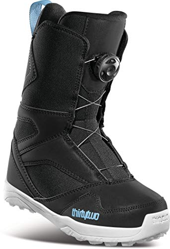 Thirty Two BOA Kids Snowboard Boots Black Sz 6C