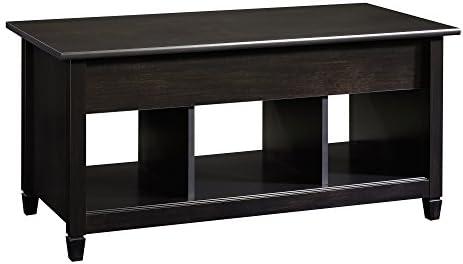 Best Sauder Edge Water Lift Top Coffee Table, Estate Black finish