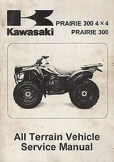 1999-2002 KAWASAKI ATV PRAIRIE 300 4X4 P/N 99924-1239-04 SERVICE MANUAL (789)
