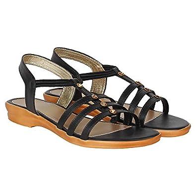 Footshez Women's Fancy Sandals with Ankle