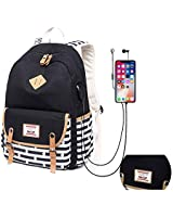 Canvas School Backpack for Tee...