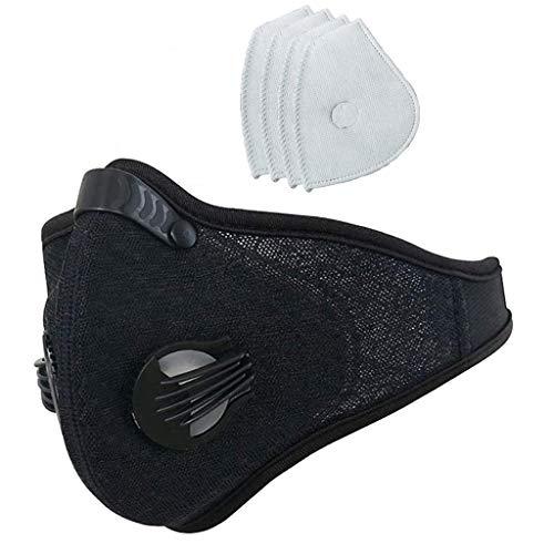 IFOUNDYOU Mundschutz Wiederverwendbar, Hochwertiges Gesichts Cover Waschbar, Multifunktional Trainings für Radfahren, Laufen, Staubschutz für Damen, Herren