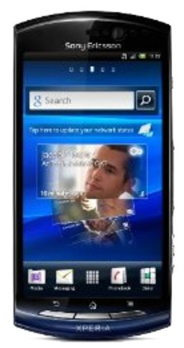 Sony Ericsson Xperia neo V Smartphone (Touchscreen, 5 Megapixel Kamera, Email-Funktion) blue gradient