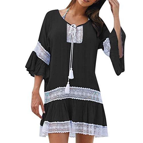 VICGREY-Copricostume Mare Donna Estate Camicia Cover Up Cardigan Donna Vestiti Spiaggia Abito Donna Lungo Elegante Vestiti Vestito Costumi da Bagno Bikini Copricostume Mare Donna Lungo