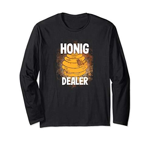 Honig Dealer | Honigdealer | Lustiges Geschenk für Imker Langarmshirt
