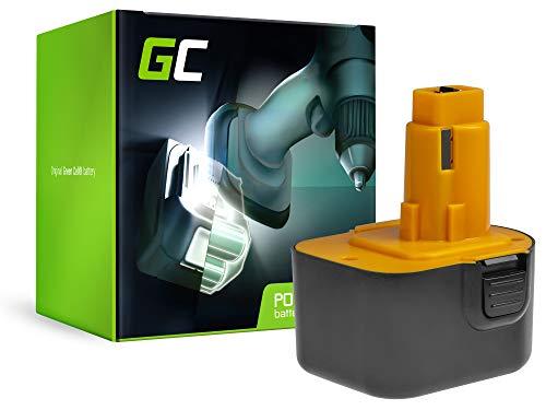 GC (1.5Ah 12V Ni-MH pile) A9252 A9275 DC9071 DE9037 DE9071 DE9072 DE9074 DE9075 DE9501 DW9071 DW9072 EZWA49 PS130 PS130A Batteria per DeWalt DC740KA DW927 DC756 DC740 Black&Decker CD12C