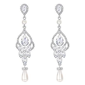 Best pearl chandelier earrings Reviews
