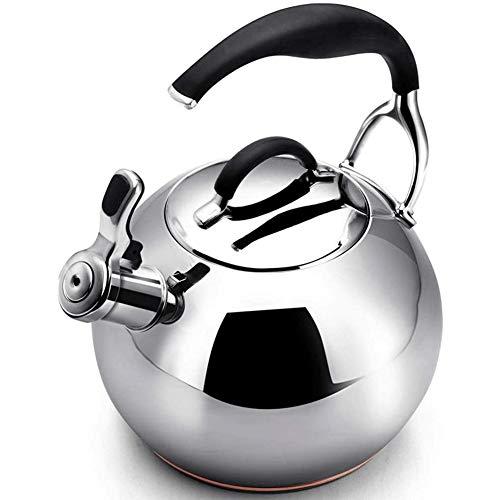 3.2 l de agua Hervidor para Whistling Kettle Tetera Tetera Hervidor de agua