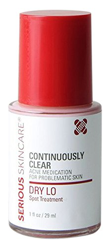 Beauty Shopping Serious Skincare Dry Lo Spot Treatment Acne Medication, 1 Ounce