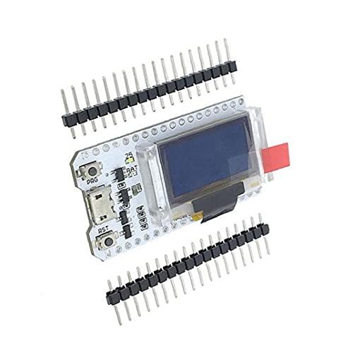 fregthf ESP32 OLED-Display WiFi Bluetooth Internet 0.96inch Development Board ESP32 Chip Module Weiß