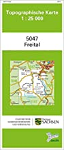 Freital (5047): Topographische Karte 1:25 000 (Topographische Karten Sachsen 1:25 000 (TK 25); amtlich)