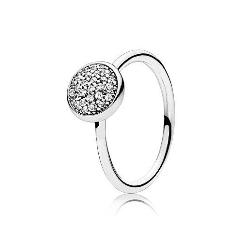 Pandora Damen-Ring 925 Silber Zirkonia weiß Gr. 54 (17.2) - 191009CZ-54