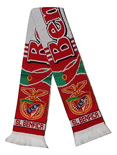 Benfica Scarf   Soccer Fan Scarf   Premium Acrylic Knit