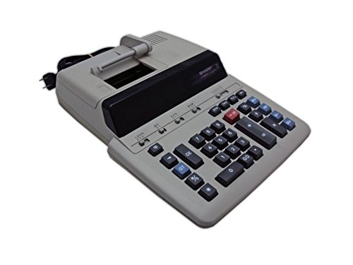 Sharp Calculators VX-2652B Commercial Printing Calculator, Off White, Gray, 3.1' x 9.8' x 13.6' (VX2652H)