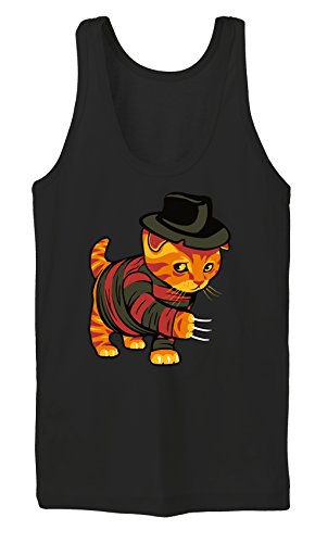 Certified Freak Evil Cat Tanktop Girls Black M