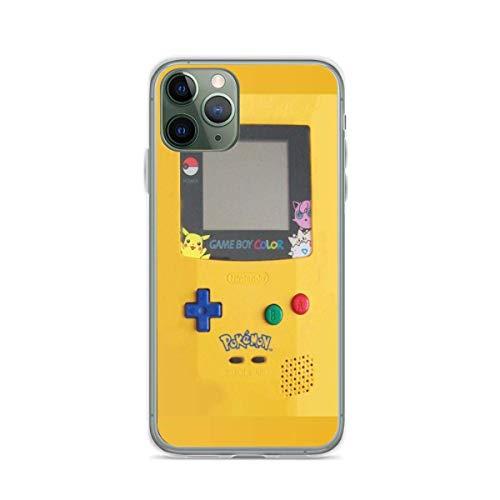 Gameboy Pure Clear Cajas del Teléfono iPhone 12/11 Pro MAX 12 Mini SE X/XS MAX XR 8 7 6 6s Plus Funda