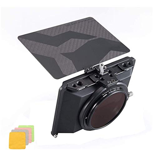 Tilta Tiltaing Mini Matte Box for DSLR Mirrorless Style Cameras BMPCC 6K Tilta Lens Hood Accessories - MB-T15