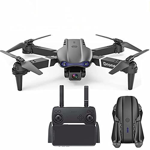 Drone RC pieghevole con telecamere 4K - lungo tempo di volo 20 minuti, kit mini drone per trasmissione live FPV WiFi con doppia fotocamera con gimbal, perfetto per principianti e sognatori avanzati