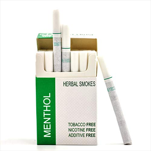 Honeyrose MENTHOL Tobacco & Nicotine Free Herbal Sticks