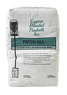 Mutual Industries 8140-0-50 Patch All Repair Mortar, 50 lb.
