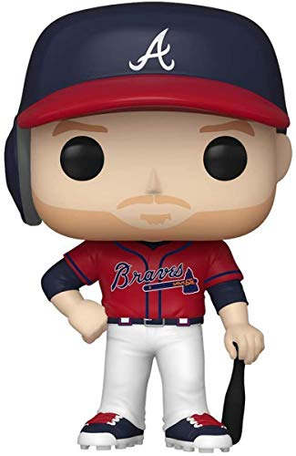 Funko 46825 Pop MLB: Braves-Freddie Freeman Juguete Coleccionable, Multicolor