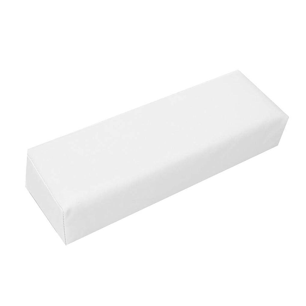 アスレチック繊細審判ネイルアートハンドピローサロンソフトハンドレストホルダー(白)