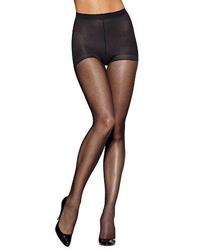 Hanes Silk Reflections Women's Lasting Sheer Control Top Pantyhose, Barely There, E/F