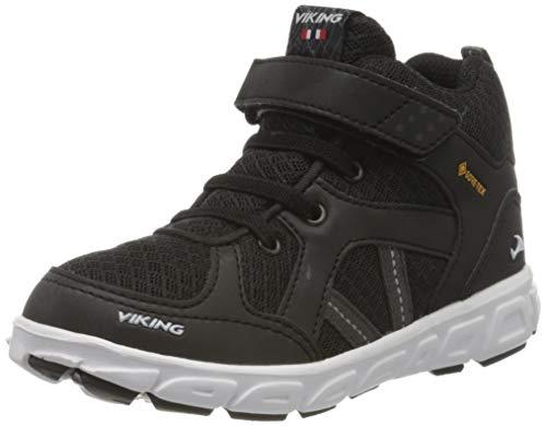 Viking Alvdal Mid R GTX, Hohe Sneaker, Schwarz (Black/Charcoal 277), 34 EU (2 UK)