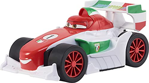 Disney Cars Toys Track Talkers Francesco, 5.5-in, Authentic Favorite Movie Character Talking & Sound Effects Vehicle, Fun Gift for Kids Aged 3 Years and Older, Multicolor