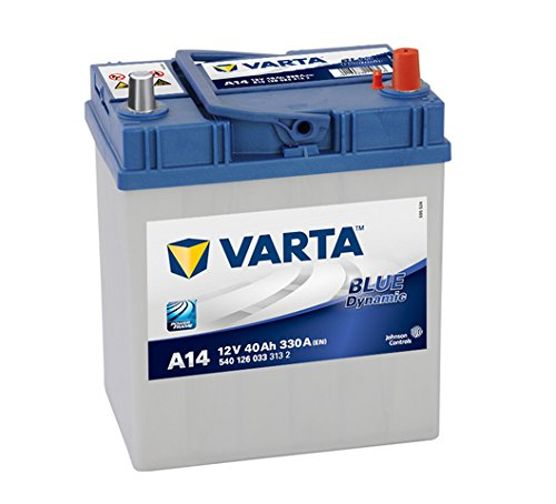Varta 5401260333132 Autobatterien Blue Dynamic A14 12 V 40 Ah 330 A