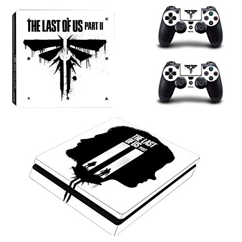 The Last of Us Part 2 PS4 Slim Skin Sticker For Sony PlayStation 4 Console and Controller For Dualshock 4 PS4 Slim Sticker Decal-YSP4S-3939