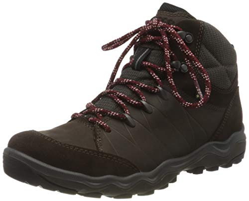 ECCO Men's Hiking Ankle Boot, Brown Licorice Coffee, US:7.5