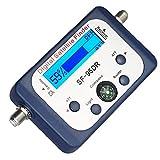 Finder satellitari Display LCD DATA DATA Digital Signal Finder Meter Misuratore dispositivo di misurazione per il posizionamento ottimale Forte materiali di alta qualità